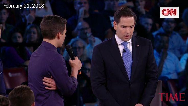 ICYMI: 'Pathetically Weak.' Florida Shooting Survivors and Families Confront Marco Rubio Over Gun Control