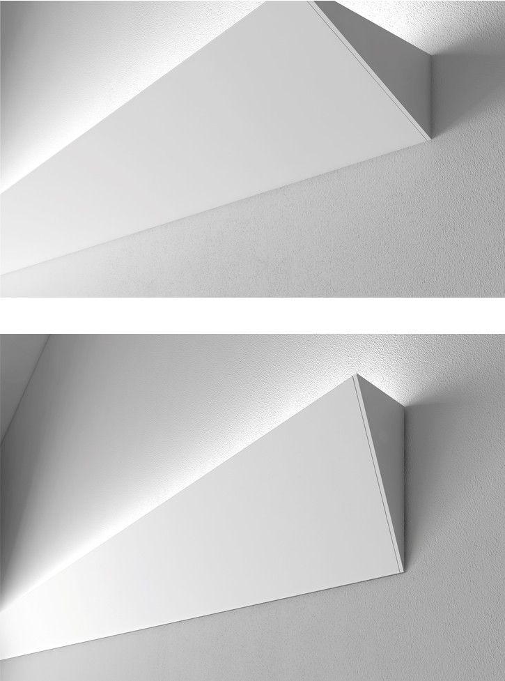 Led wandstrahler stripes verschiedene for Led deckenleuchte verschiedene farben
