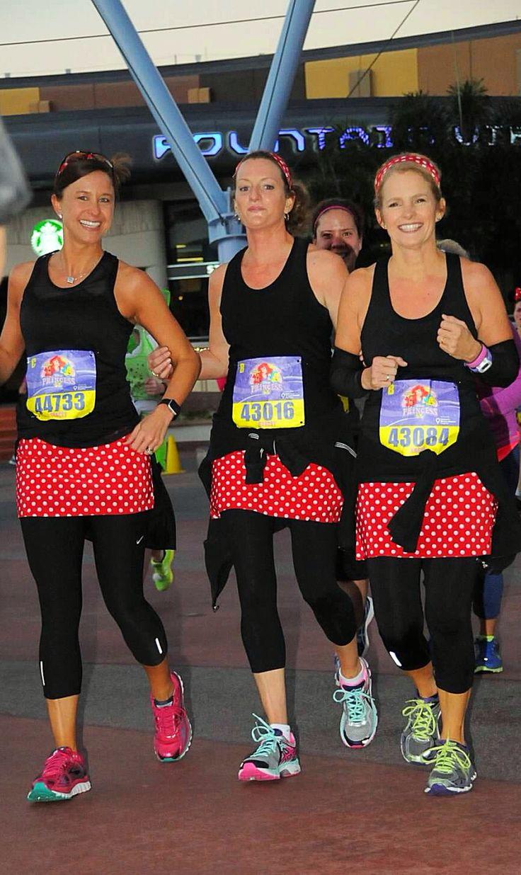 Run Disney princess 5k princess half marathon Minnie Mouse