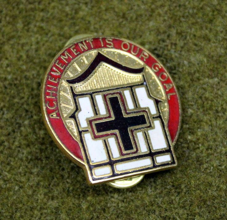 11688)+US+86th+Evacuation+Hospital+Insignia+DI+Crest+Medal+Military+Pin+Badge