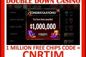 Double down casino codes promo