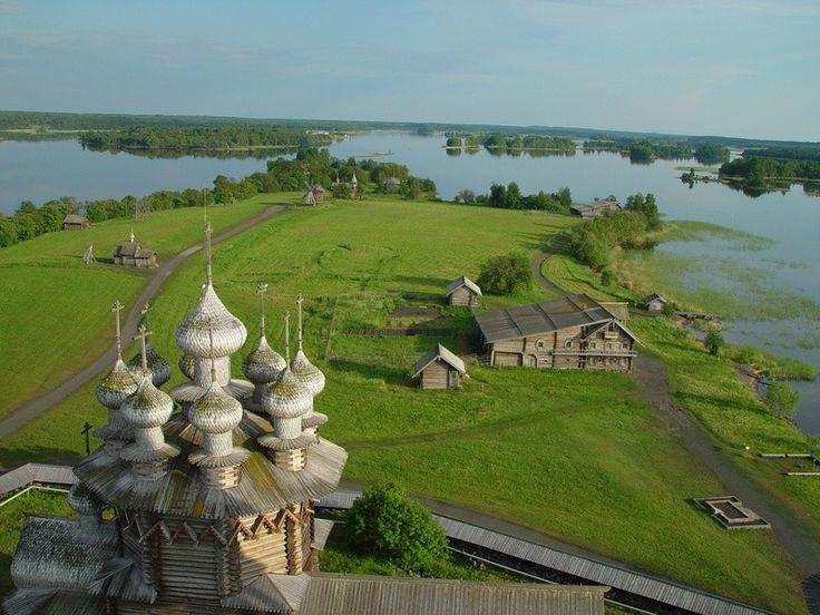 Русские Заонежья  |     Памятники деревянного зодчества |     Музей-заповедник «Кижи»