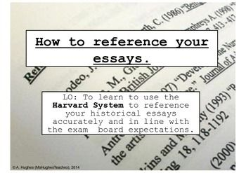 referencing essays footnotes If you are referring to the same work in the immediately following footnote you can use ibid instead of writing the full reference we run a footnote referencing.