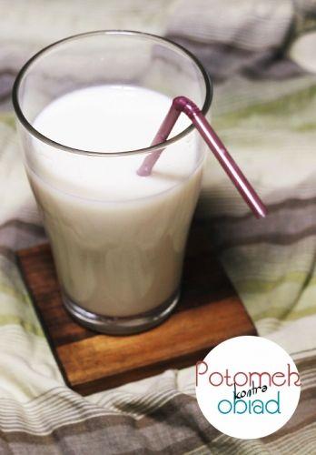 Mleko sojowe - Potomek w kuchni czyli nie do końca normalny blog kulinarny