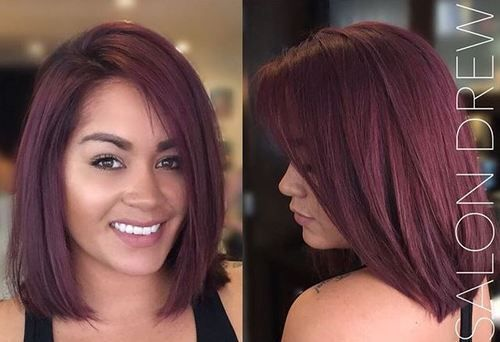 purple+brown+hair+color