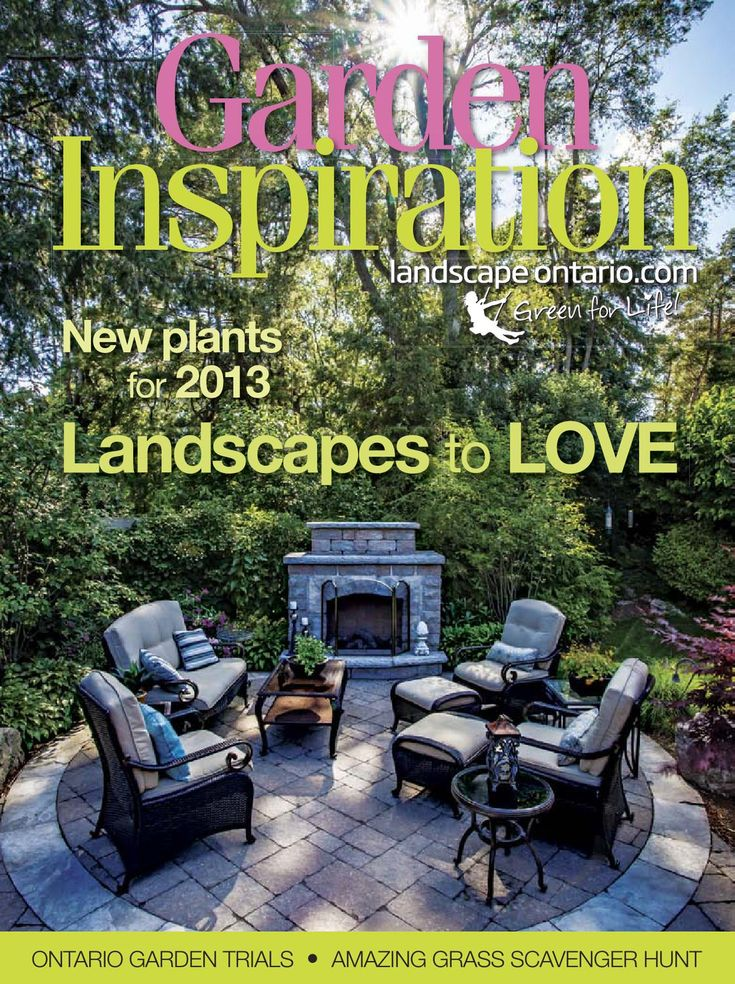 Featuring award winning landscape projects and new plants being introduced in 2013