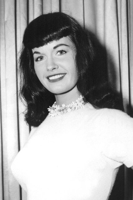 bettie page| http://thepinuppodcast.com  re-pinned this because we are trying to make the pinup community a little bit better.