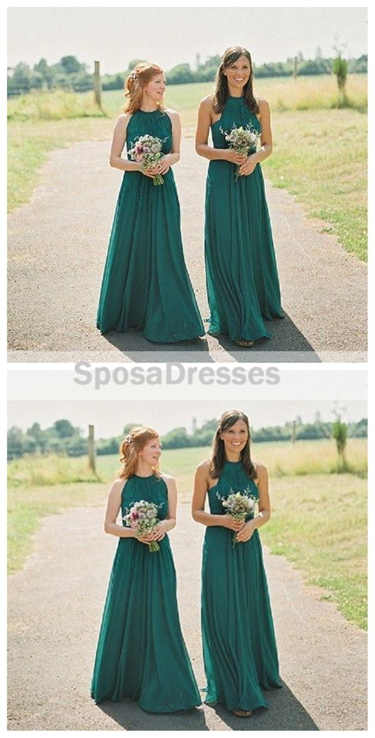 14 Best Bridesmaid Dresses Images On Pinterest Ball Clarette Sneakers Charmaine Navy Cheap Halter Green Custom Chiffon Long Wg221