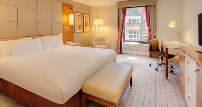 Hilton Cambridge Hotel, UK - King Guest Room