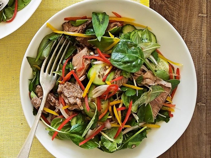 Light, fresh and packed full of flavour, this delicious Thai beef salad is a classic Asian dish, perfect for a healthy lunch or dinner.