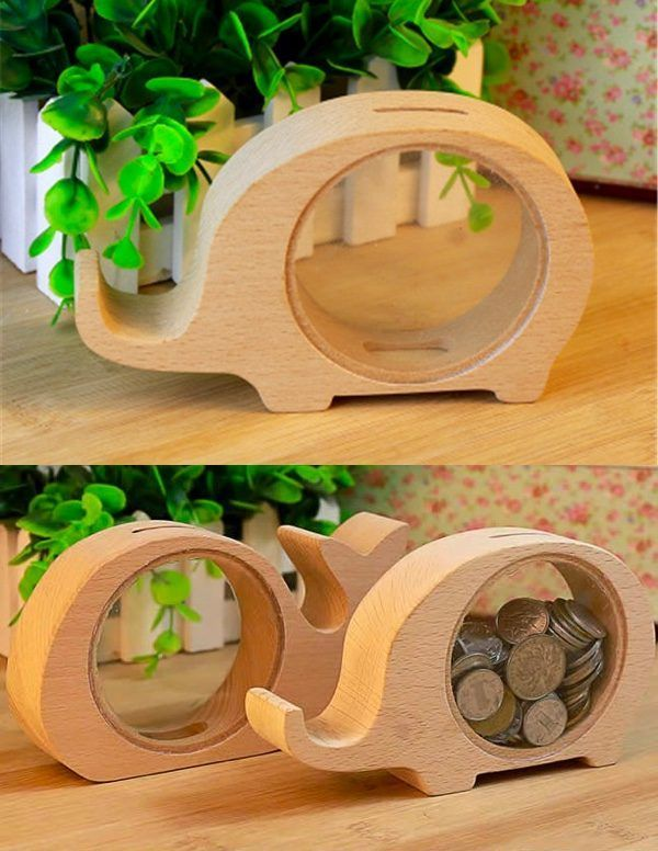50 Cool Piggy and Coin Banks For Kids That Adults Would Love Too #woodworkingfor…