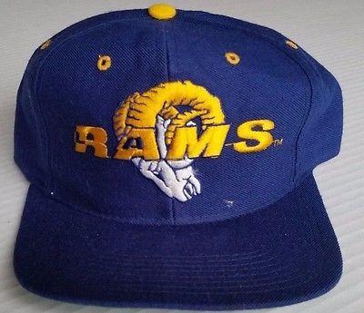 Los Angeles Rams Vintage Snapback New Era Pro Model Hat Team NFL Cap St. Louis