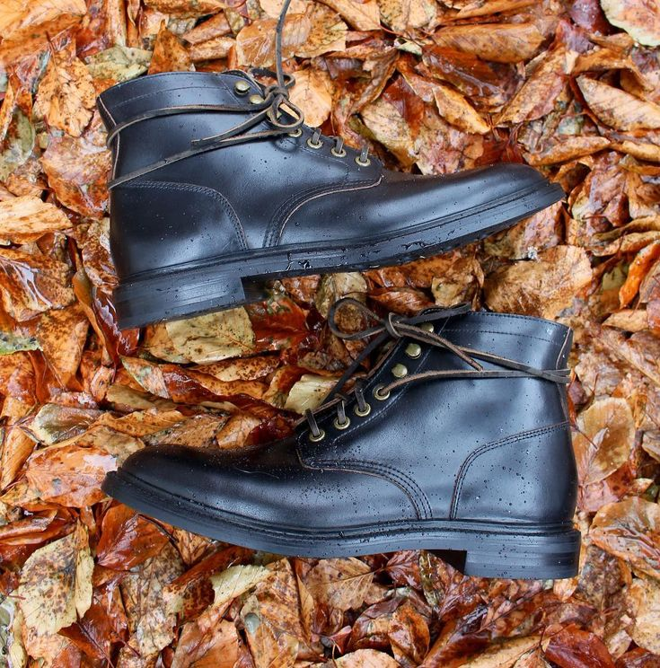 Grant Stone(@grantstone):「 Winter weather = Rubber sole Diesel Boot. The all black Diesel boot is in! #goodyearwelted #boots… 」