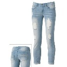 Mudd Distressed Skinny Boyfriend Jeans - Juniors Kohl's