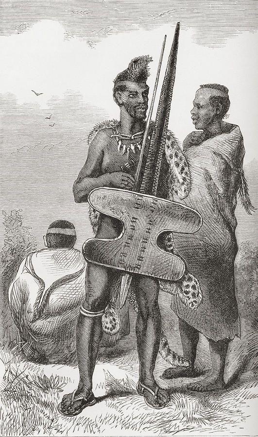 a-bechuana-warrior-in-the-19th-century-ken-welsh.jpg (531×900)
