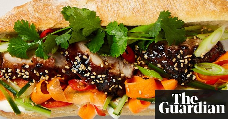 Coriander teases out the flavours of a rich sweet potato mash, a punchy bánh mì and a zingy tofu lime salad