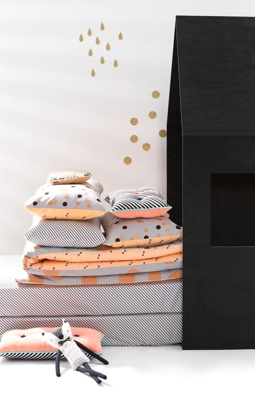 Luxe Pillowcase, GLITTER NIGHTS