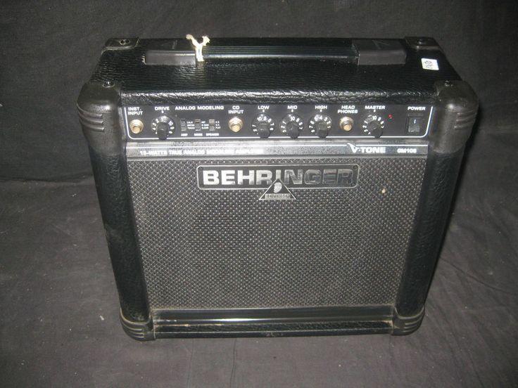 Amplificador Guitarra Behringer GM108 - 15 W - Buen Estado