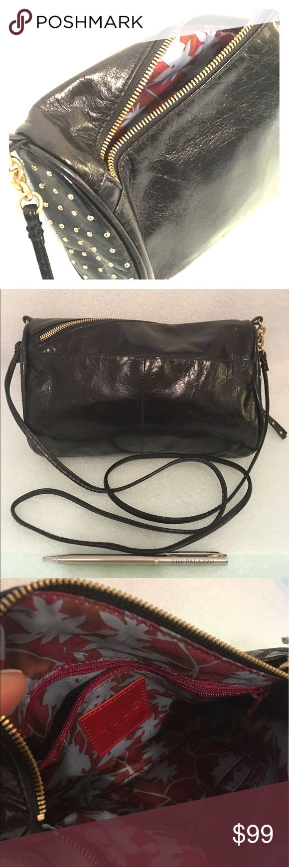 Hobo Original Clancy bag. Hobo Original, Excellent condition WOT. 100% tip grain leather uniquely tumbled for that 'broken in' look. Asymmetrical zipper with gold studded accents and hardware. HOBO Bags Crossbody Bags