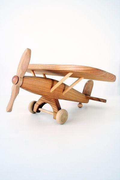 Samolot w Drewniane Zabawki Cioci Zoi na DaWanda.com #niezchinzpasji