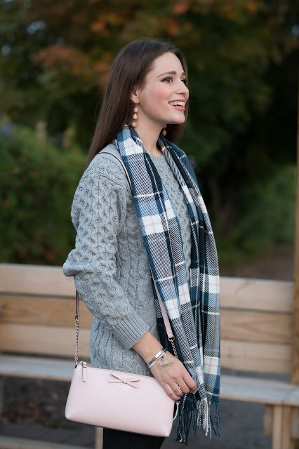 Southern Belle in Training: Styling a Cozy Sweater.