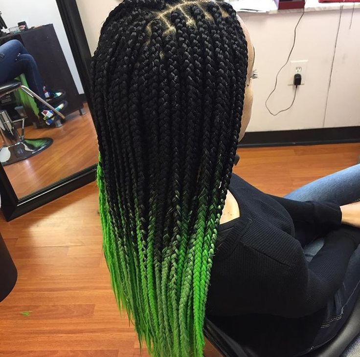 green ombre box braids want this hair check out this