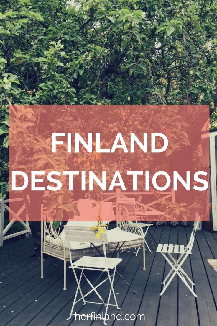 Her Finland, a travel & lifestyle blog about Finland, tells you the most interesting Finland travel destinations.