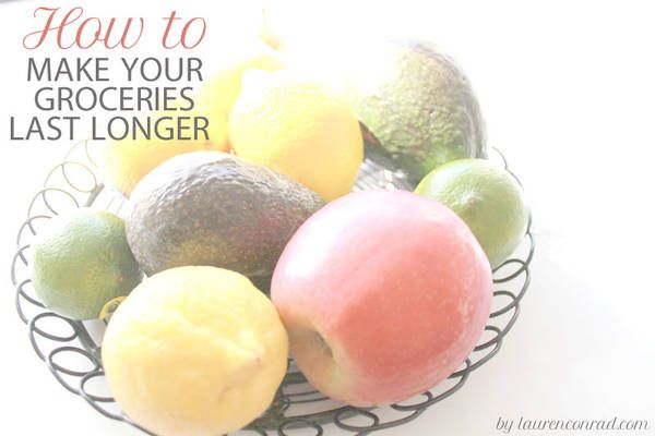 10 tricks to make your groceries last long