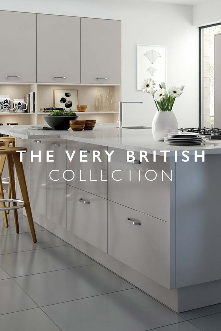 Designed for modern British living - Want a new kitchen? Create one that fits your space, and your way of living, beautifully.