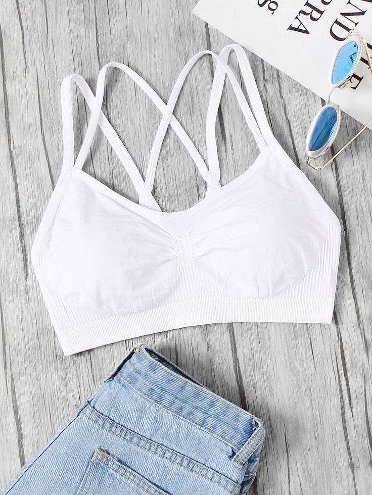 Shop Ruched Detail Double Straps Sports Bra online. SheIn offers Ruched Detail Double Straps Sports Bra & more to fit your fashionable needs.