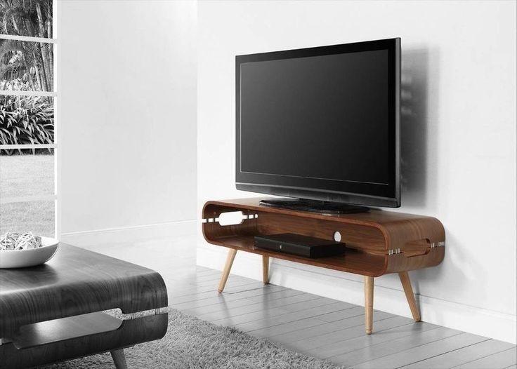 Retro TV Cabinet Wooden Television Stand Vintage Entertainment Unit Antique Vtg