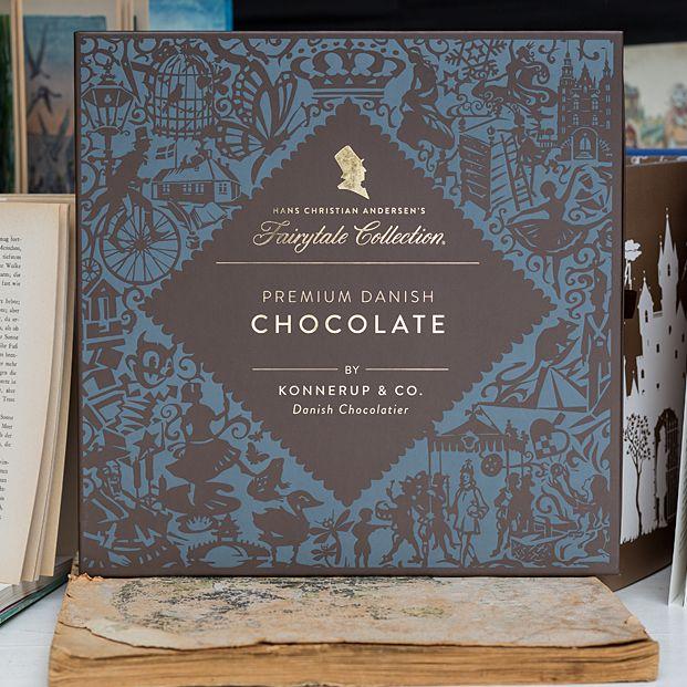 Firmengeschenk - großer Schuber mit 9 Märchenschokoladen #christmas #chocolate