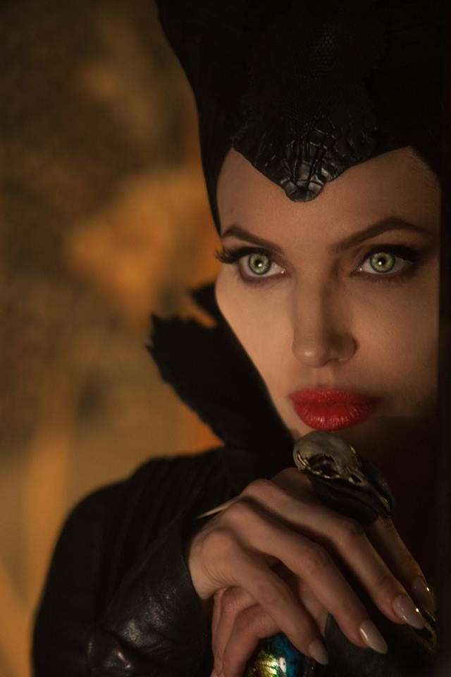 "Angelina Jolie in ""Maleficent"""