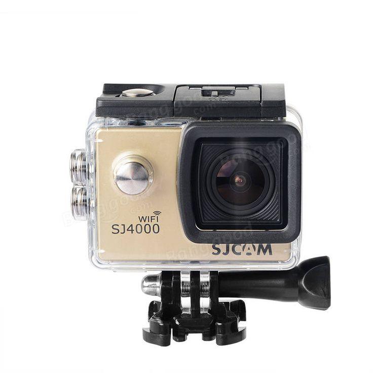 SJcam SJ4000 WiFi HD 1.5 Inch Car DVR Camera Sport DV Novatek Waterproof - US$60.99