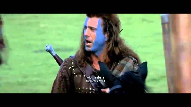 Braveheart  - Freedom Speech They may take away our lives, but they will never take our freedom