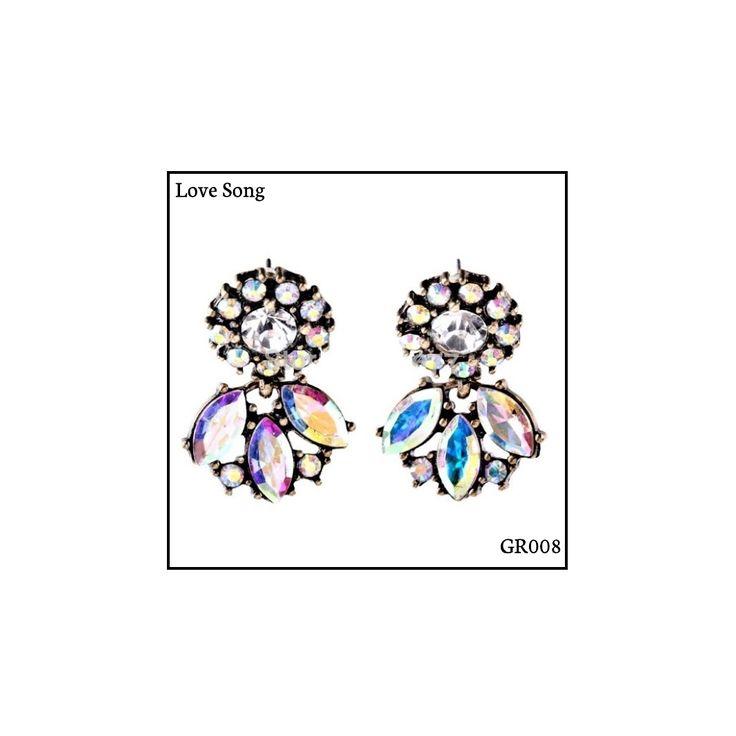 Ref: GR009 Love Song Medidas: 2.8 cm x 2 cm  So Oh: 5.99 🌱#sooh_store #onlinestore #glam #style #brincos #earrings #fashion #shoponline