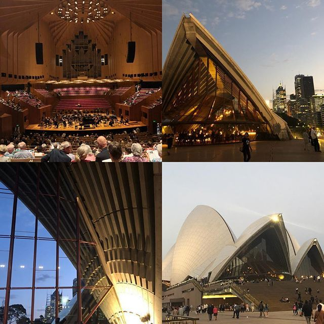 Went to see the Sydney Symphony Orchestra last night. The Opera House makes such a spectacular backdrop for the performance  #wednesdaynight #classicalmusic #sydney #authorlife