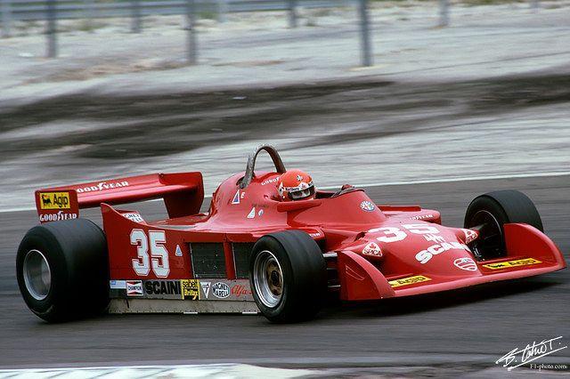 Bruno Ciacomelli - Alfa Romeo 177 (France 1979)