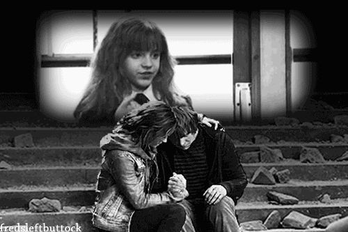 #Romione | Ron ♥ Hermione [gif]