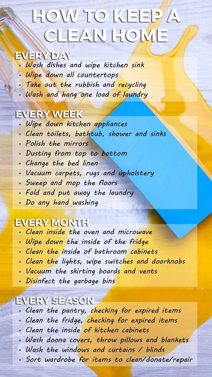 How to keep a clean home - handy planner and list. Cleaning tips, hacks, and ideas. Brought to you by Sabco. #Sabco #KeepItClean