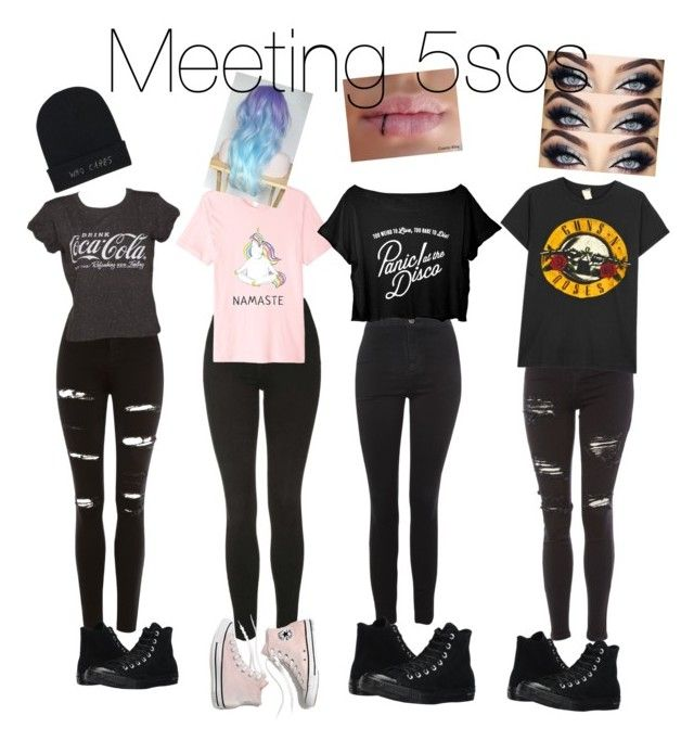 """""""Meeting 5sos"""" by mia-fabela on Polyvore featuring Topshop, MadeWorn, Converse and Madewell"""