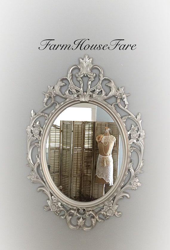 Bathroom Mirrors Silver 370 best mirrors images on pinterest | baroque mirror, mirror