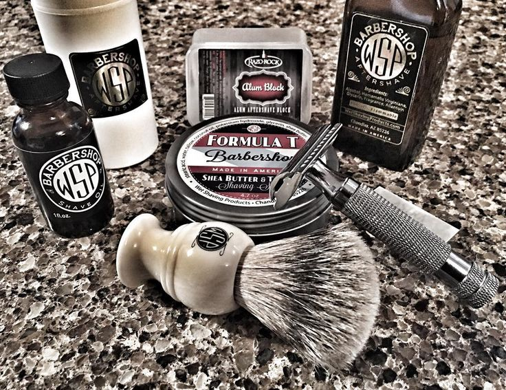 SOTD: 4/7/2016 Wet Shaving Products Formula T Barbershop Wet Shaving Products Barbershop Aftershave Wet Shaving Products Barbershop Aftershave Balm Wet Shaving Products Barbershop Pre Shave Oil Wet Shaving Products High Mountain White Monarch Brush Wet Shaving Products El Grande Closed Comb Razor Astra Superior Stainless DE Blade Razo Rock Alum Block The Wet Shaving Products Barbershop in Formula T is still my favorite Barbershop scent. Great soap and the aftershave feels so good on th...