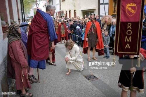 07-24 BENSHEIM, GERMANY - APRIL 14: Jesus Christ, played by... #bensheim: 07-24 BENSHEIM, GERMANY - APRIL 14: Jesus Christ,… #bensheim