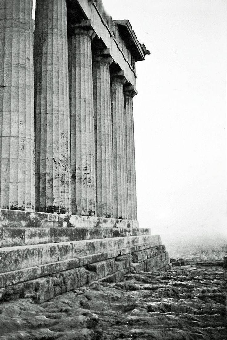 View of the Parthenon.