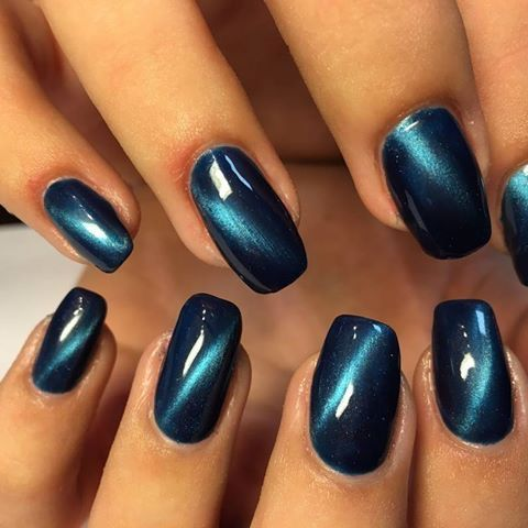 Pin by Lorie Wilson on Nail designs | Cat eye nails, Cat ...