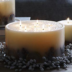 Ultimate Indulgence Winter Botanical Candle