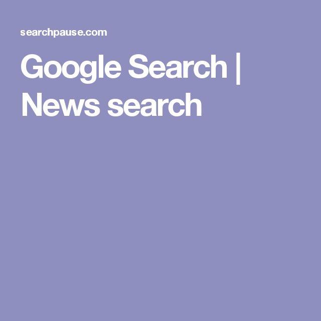 Google Search | News search