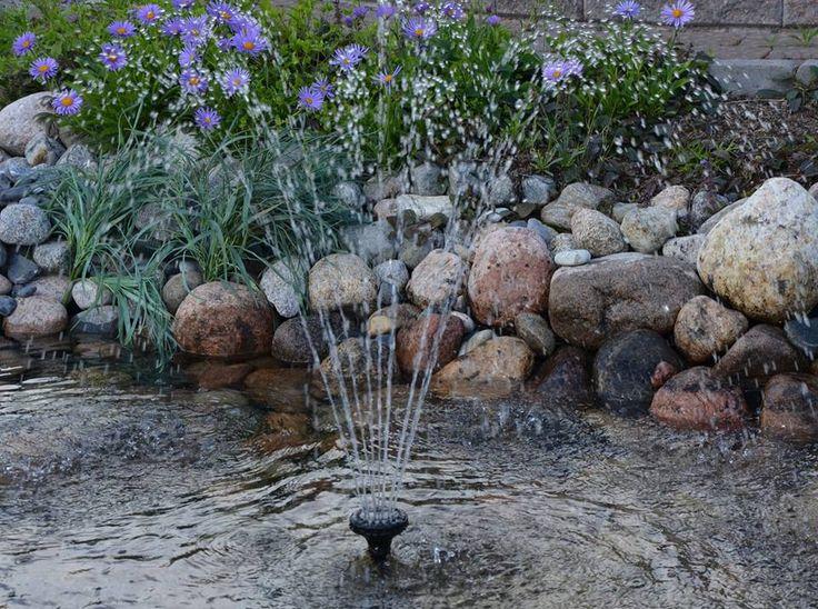 Pirskahtelevan raikasta kesäpäivää täältä vesiputousten luvatusta pihasta
