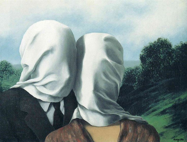 The Lovers, 1928 - Rene Magritte